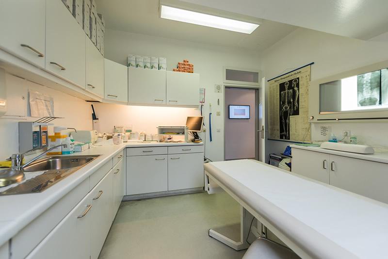 Behandlungsraum Orthopädie